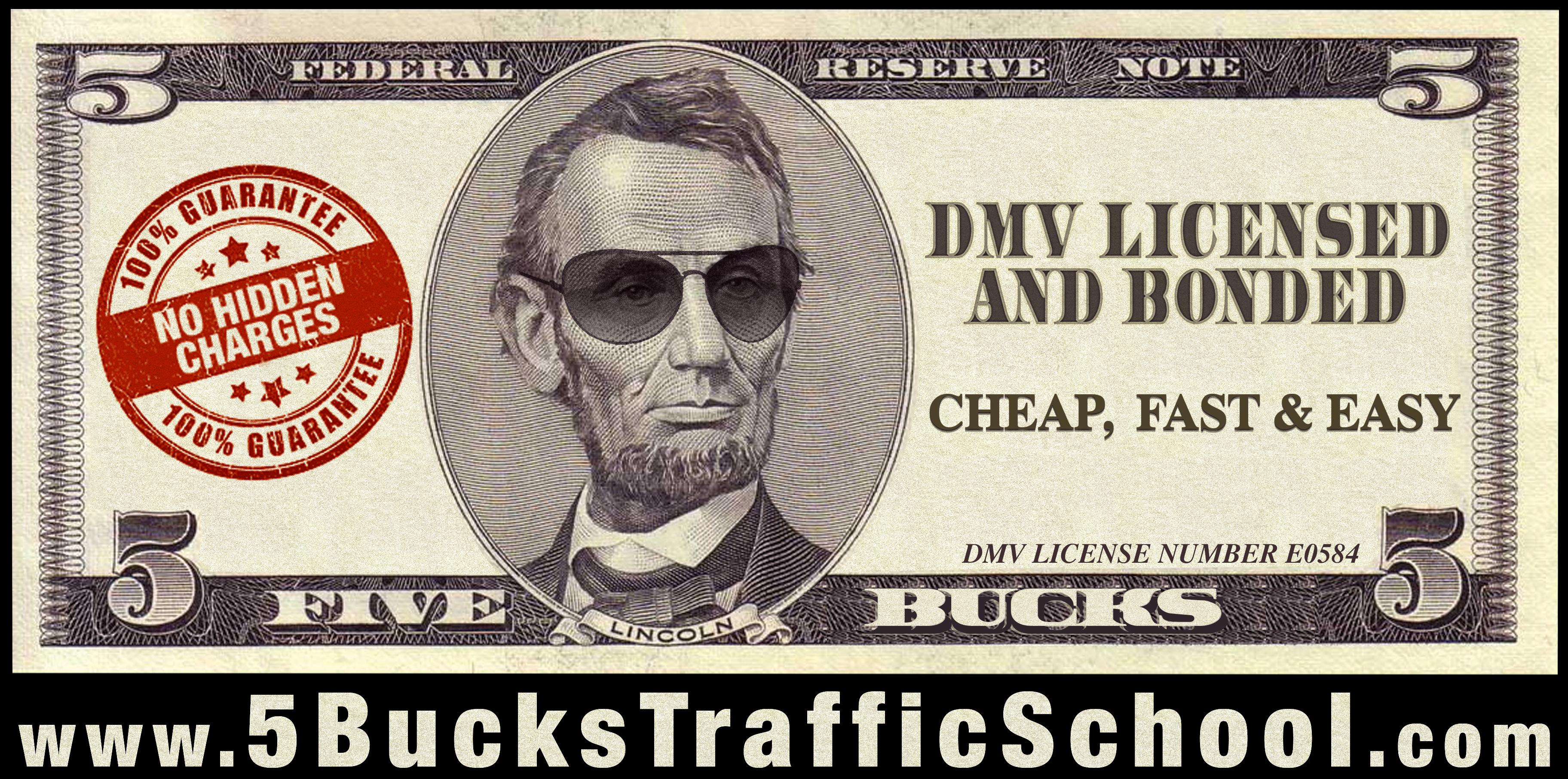5 Bucks Traffic News Better Driving For A Better World